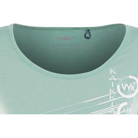 Kaikkialla Tytti Drirelease SS Shirt Dam light blue